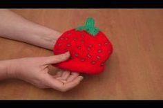 Babymützen selber stricken - Anleitung für die Erdbeermütze