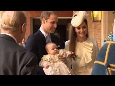 The Duke and Duchess of Cambridge christen their son Prince George