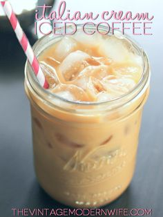 The Vintage Modern Wife is teaming up with Seattle's Best Coffee to bring you Italian Cream Iced Coffee! Perfect for hot summer mornings or ...
