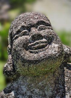 The Laughing Buddha of Hiwang Native Village in Banaue, Ifugao. Banaue, Project 365, Photo A Day, Creative Words, How To Take Photos, Laughing, Buddha, War, Fish
