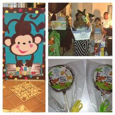 Perfect Animal Of Rainforest Fisher Price Baby Shower Party Ideas