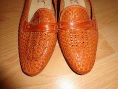 Vintage Pumps - Vintage*Schuhe*Pumps*braun*Leder*37* - ein Designerstück von SweetSweetVintage bei DaWanda