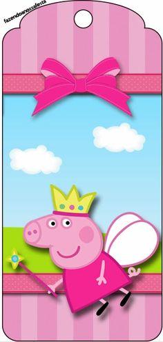 SGBlogosfera. María José Argüeso: KIT PEPA PIG Peppa Pig Pinata, Cumple Peppa Pig, Pig Birthday, 4th Birthday Parties, Pippa Pig, Peppa Pig Printables, Peppa Pig Invitations, Pig Crafts, Second Birthday Ideas