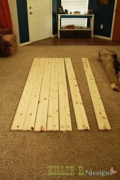 How to make your own barn door! Awesome and thrifty fix! door step 1 Perfect for the office door #HowToMakeYourHomeBeautiful