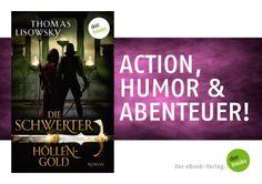 Abenteuer, Gefahren, coole Sprüche und jede Menge Action: Thomas Lisowskys Fantasyserie DIE SCHWERTER ist ein rasantes High-Fantasy-Lesevergnügen! Mehr Informationen findet ihr hier: http://www.dotbooks.de/profile/855559/thomas-lisowsky