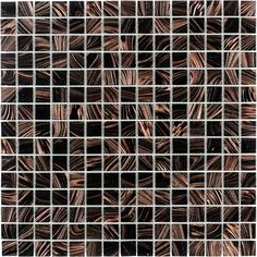 Elida Ceramica Glass Mosaic Tiger Eye Uniform Squares Mosaic Glass Wall Tile (Common: x Actual: x Outdoor Walls, Indoor Outdoor, Bathroom Wall, Bathroom Ideas, Kitchen Tiles, Mosaic Glass, Wall Tiles, Decorative Items, Eyes