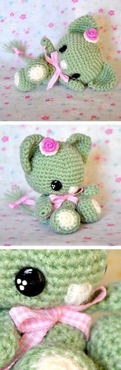 Chica outlet - kitty - free crochet pattern. Plus some other free crochet patterns.