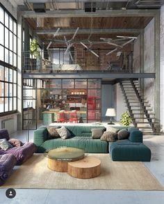 Love the steel frames and big windows!
