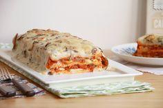 Pastel de Pisto Vegetable Recipes, Lasagna, A Food, Vegetables, Cooking, Ethnic Recipes, Pasta Filo, Quiches, Robot