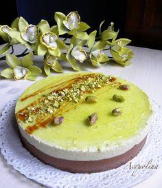 Acquolina: Ancora compleanni: bavarese pistacchio cioccolato