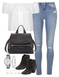 """""""Untitled #3070"""" by plainly-marie ❤ liked on Polyvore featuring Topshop, Ash, Givenchy and FOSSIL"""