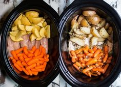 Slow Cooker Chicken and Veggies