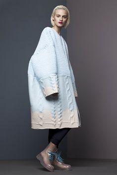 Why do fashion designers hate models? She looks like a tiny humpback