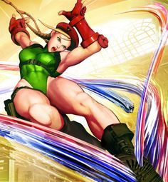 The second female fighter in the Street Fighter series, Cammy, made her first appearance in Street Fighter II.