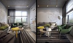Student's Apartment 1+1 on Behance