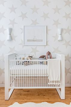 10 Nursery Styling Tips That Don T Involve Pink Or Blue Star Wallpaperneutral