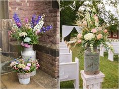 30 Rustic Country Wedding Ideas with Milk Churn