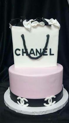 Chanel Cake Luxury Purple Birthday Images Custom Cakes