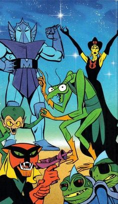 Space Ghost Rogues Gallery of Villains Classic Cartoon Characters, Cartoon Tv Shows, Classic Cartoons, 70s Cartoons, Old School Cartoons, Space Ghost, Vintage Cartoon, Cartoon Art, Saturday Morning Cartoons