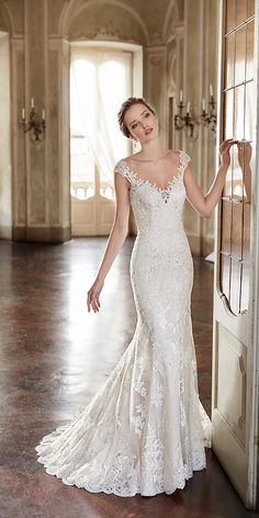 Eddy K Wedding Dresses 13 - Deer Pearl Flowers / http://www.deerpearlflowers.com/wedding-dress-inspiration/eddy-k-wedding-dresses-13/