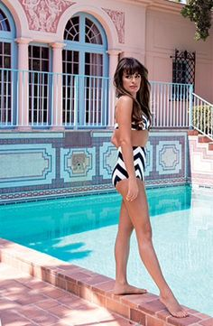 "Full picture of Lea Michele featured in ""Young Hollywood"" by Claiborne Swanson Frank"