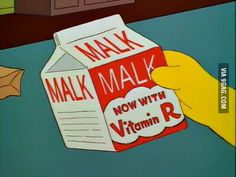 Malk now with vitamin R
