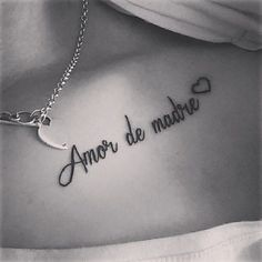 These days a bent that has been imposed on the planet of tattoos is that of phrases. Women and men determine to Mama Tattoos, Phrase Tattoos, Body Art Tattoos, New Tattoos, Tatoos, Tattoo Phrases, Unalome Tattoo, Clavicle Tattoo, Tattoo Life