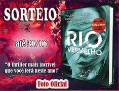 Saleta de Leitura: SORTEIO RIO VERMELHO NO INSTAGRAM