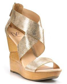 "DIANE von FURSTENBERG ""Opal"" Wedge Sandals | Bloomingdale's"