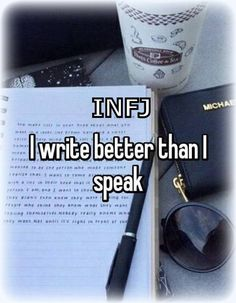 INFJs are introverted thinkers (Ti) and hence feel the need to process their thoughts and emotions in advance to deliver the best possible answer (Ni) For more memes, musings, and meaningful discussions, tune into Facebook.com/groups/RefugeSurvivors