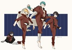 The Kunihirou's My Character, Character Design, Draw The Squad, Rurouni Kenshin, Manga Boy, Anime Demon, Touken Ranbu, Cute Cartoon, Anime Guys