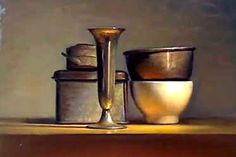 Still life painting demo in artificial light - Speed painting video. Read full…