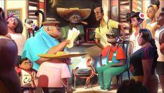 Artes de Nacho Molina para o filme VIVO, da Sony Animation | TheCAB