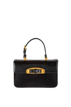 Prada - Black Small Evening Bag with Bow