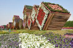 ¡La 8maravilla del mundo! Precioso yúnico jardín enDubai que sorprende hasta alos más exigentes
