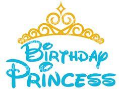 INSTANT DOWNLOAD Birthday Princess Tiara by FantasylandPrintable, $5.00