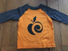 AppleCheeks Kids Raglan Shirts available at My Little Viking. Comes in a few other colors also. Tell Ashley I sent you ;)