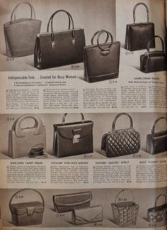Vintage Bags - Explore the many styles of handbags, purses, day and evening bags. Leather hobo, Lucite box bags, straw basket and fun novelty shapes. Popular Handbags, Handbags On Sale, Luxury Handbags, Purses And Handbags, Leather Handbags, Cheap Handbags, Prada Handbags, Handbags Online, Vintage Purses