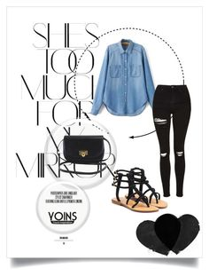 """""""Bez naslova #61"""" by amina-d-394 ❤ liked on Polyvore featuring Rika, Mystique, Topshop and yoins"""