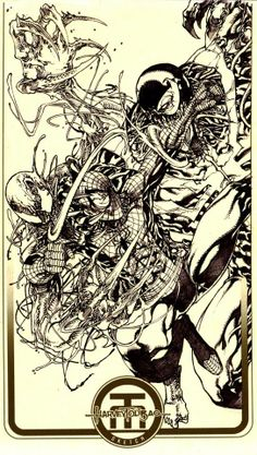 Spider-Man vs Venom vs Carnage by Harvey Tolibao *