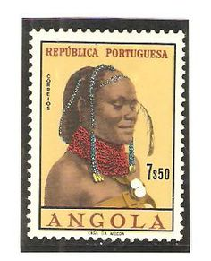 Angola 1961 7$50. Africa Art, West Africa, Stamp Collecting, Ethnic Jewelry, Postage Stamps, Coins, Europe, Collections, Money