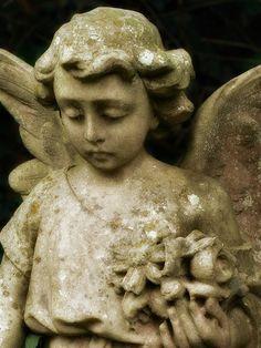 stone angel | Stone Angel... #stone #angels #sculpture | angel statues ...