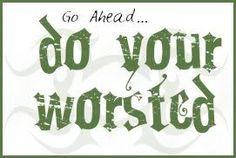 """Coffee Crochet: January 2007  """"Go Ahead....do your worsted!"""