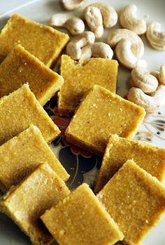 Indian Cuisine: Vermicelli and Dry Coconut Burfi Recipe ~ Easy Burfi Recipes