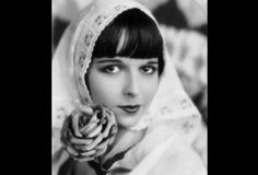 Louise Brooks' bobbed haircut and pale skin made her a movie icon. She's most remembered for her roles in German Expressionist films, most notably G.W. Pabst's Pandora's Box.