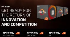 AMD Ryzen 5 desktop ships launch April 11th for $169 and up