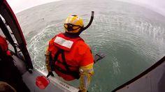 U.S. coastguard Rescue swimmer.