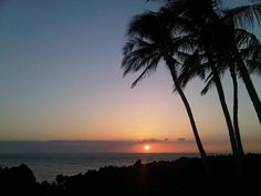 Sunset at Waikoloa (Big Island)