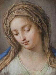 Benedetto Luti (1666-1724): la Virgen, 1714.
