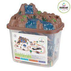 Amazon.com: KidKraft Bucket Top Mountain Train Set: Toys & Games